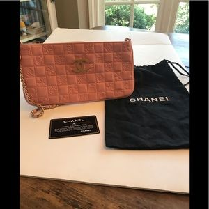 Authentic Rare Chanel Pink Precious Symbols Purse